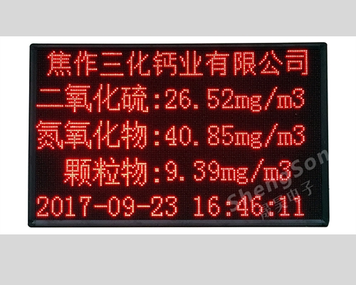 洛阳工厂污染物排队公示显示